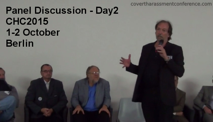 Solutions Forum Panel Covert Harassment Conference 2015 - Day2