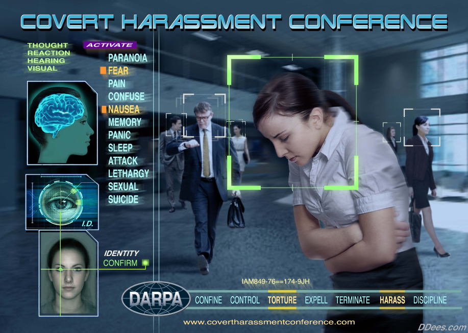 COVERT HARASSMENT CONFERENCE 2015