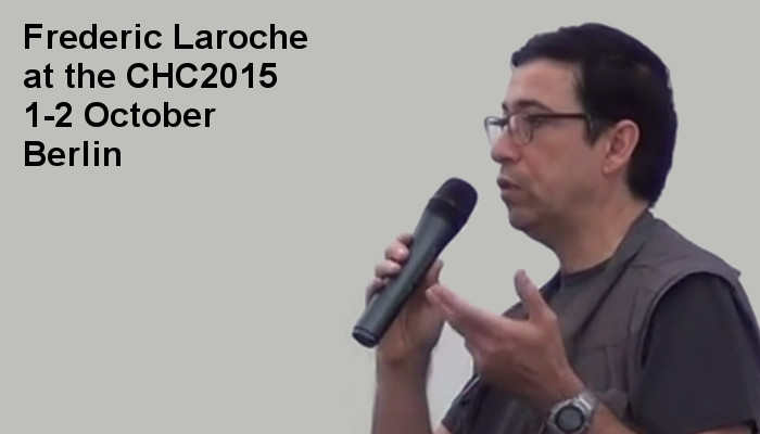 Frederic Laroche at the Covert Harassment Conference 2015 - Day2