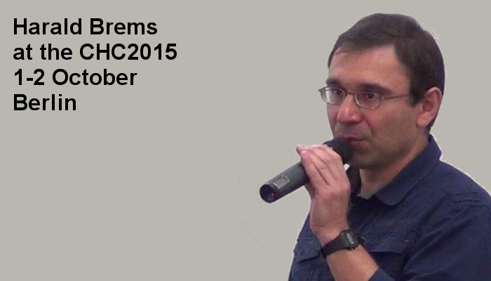 Harald Brems at the Covert Harassment Conference 2015, 1-2 October, Berlin