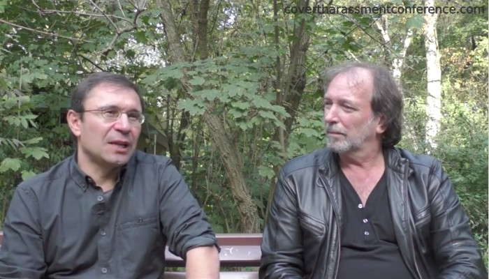 Harald Brems at the Covert Harassment Conference 2015 - Interview