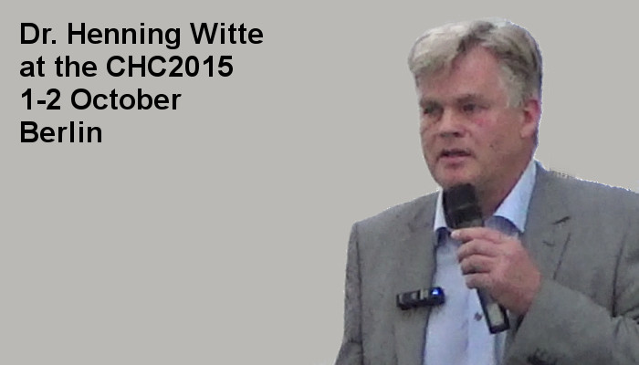 Dr. Henning Witte at the Covert Harassment Conference 2015, 1-2 October, Berlin