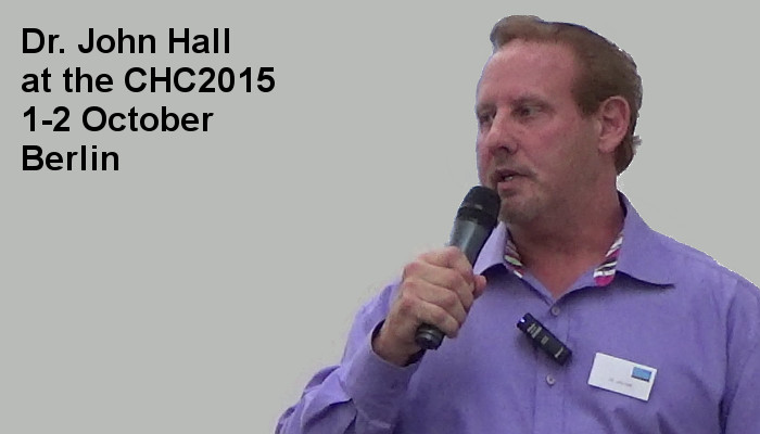 Dr. John Hall at the Covert Harassment Conference 2015, 1-2 October, Berlin