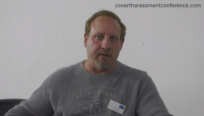 John Hall at the Covert Harassment Conference 2015 - Reflection