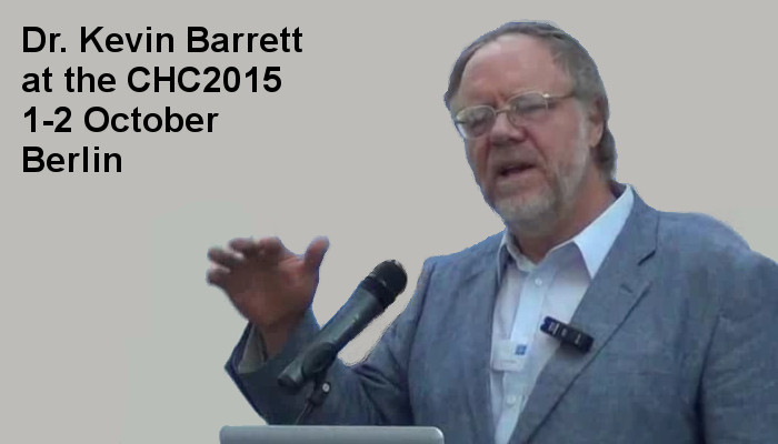 Dr. Kevin Barrett at the Covert Harassment Conference 2015, 1-2 October, Berlin