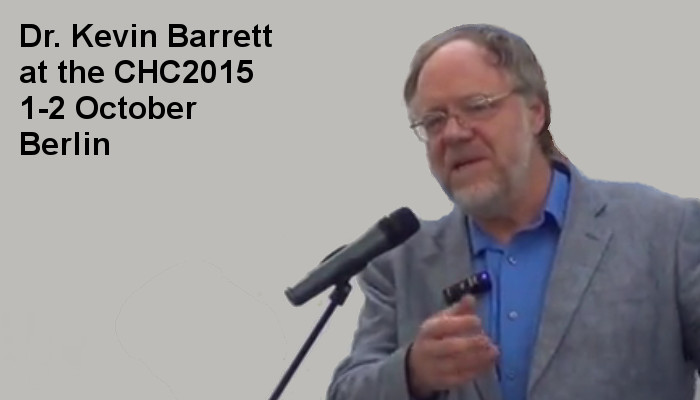 Dr. Kevin Barrett at the Covert Harassment Conference 2015 - Day2