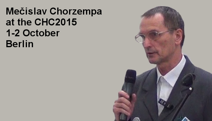 Mečislav Chorzempa at the Covert Harassment Conference 2015, 1-2 October, Berlin
