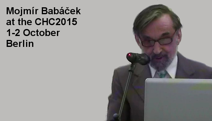 Mojmír Babáček at the Covert Harassment Conference 2015, 1-2 October, Berlin