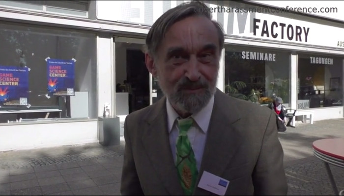 Mojmír Babáček at the Covert Harassment Conference 2015 - Reflection