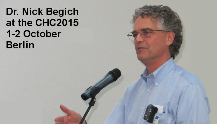 Dr. Nick Begich at the Covert Harassment Conference 2015, 1-2 October, Berlin