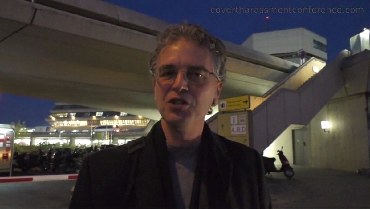 Dr. Nick Begich at the Covert Harassment Conference 2015 - Reflection