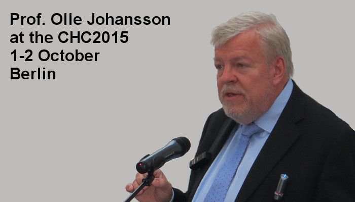 Prof. Olle Johansson at the Covert Harassment Conference 2015, 1-2 October, Berlin