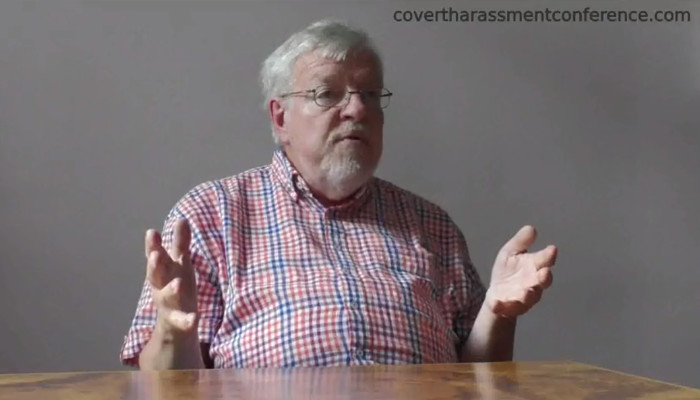 Prof. Olle Johansson at the Covert Harassment Conference 2015 - Interview