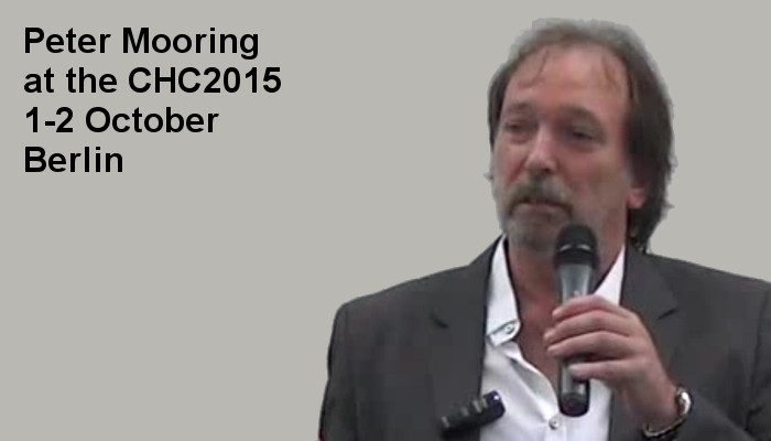 Peter Mooring at the Covert Harassment Conference 2015, 1-2 October, Berlin